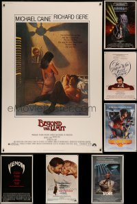 8h0440 LOT OF 7 1980S 40X60S 1980s great images from a variety of different movies!