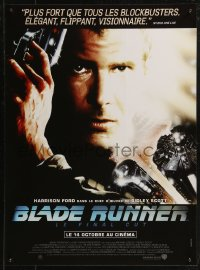 8j0060 BLADE RUNNER French 16x21 R2015 Ridley Scott's director's cut, Alvin art of Harrison Ford!
