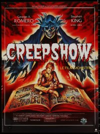 8j0063 CREEPSHOW French 16x21 1983 George Romero & Stephen King, E.C. Comics, different art by Melki