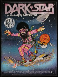 8j0064 DARK STAR French 16x21 1980 John Carpenter & Dan O'Bannon, the spaced out odyssey!