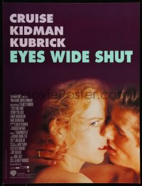 8j0071 EYES WIDE SHUT French 16x21 1999 Stanley Kubrick, romantic c/u of Tom Cruise & Nicole Kidman!