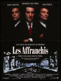 8j0077 GOODFELLAS French 16x21 1990 Robert De Niro, Joe Pesci, Ray Liotta, Martin Scorsese!