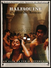 8j0079 HALFAOUINE BOY OF THE TERRACES French 16x21 1990 coming-of-age, directed by Ferid Boughedir!