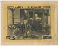 8k1219 TENDER FEET LC 1925 Walter Hiers & Brock stranded 6 miles from the next station, ultra rare!