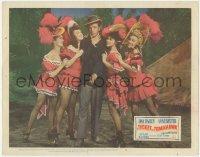8k1234 TICKET TO TOMAHAWK LC #4 1950 Dan Dailey with sexy unbilled Marilyn Monroe & showgirls!