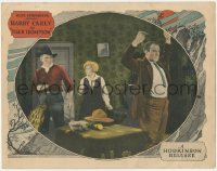 8k1235 TIGER THOMPSON LC 1924 cowboy Harry Carey & Marguerite Clayton catch the bad guy!