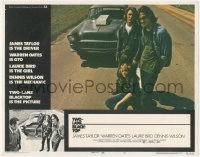 8k1256 TWO-LANE BLACKTOP LC #2 1971 James Taylor is the driver, Warren Oates is GTO, Laurie Bird
