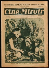 8m0453 CINE-MIROIR French magazine July 15, 1922 Louise Lorraine as Jane in Adventures of Tarzan!