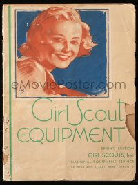 8m0499 GIRL SCOUT EQUIPMENT catalog Spring 1938 for ordering official uniforms & more!