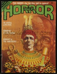 8m0511 HOUSE OF HAMMER English magazine July 1978 Brian Lewis art of Christopher Lee in The Mummy!
