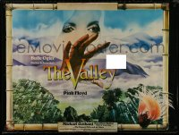 8p0013 VALLEY OBSCURED BY CLOUDS 30x40 1975 Barbet Schroeder's La Vallee, music by Pink Floyd!