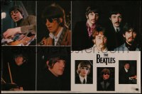 8p0174 BEATLES 25x37 Scottish commercial poster 1981 John, Paul, George & Ringo, montage!