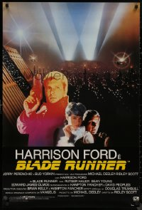 8p0177 BLADE RUNNER 27x39 Italian commercial poster 1982 Harrison Ford, Rutger Hauer, Sean Young