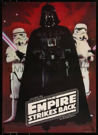8p0182 EMPIRE STRIKES BACK 20x28 commercial poster 1980 Darth Vader with Stormtroopers!