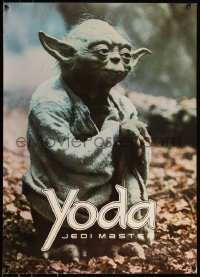 8p0186 EMPIRE STRIKES BACK 20x28 commercial poster 1980 George Lucas classic, Jedimaster Yoda!