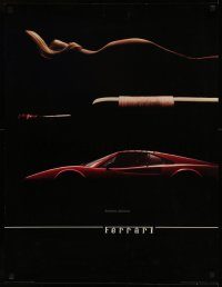 8p0187 FERRARI 24x32 commercial poster 1982 sexy woman, champagne, GT 308, decisions, decisions!