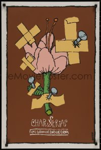 8p0157 CHAPUCERIAS Cuban 1989 Enrique Colina, Bachs artwork of nailed flower!