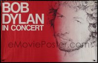 8p0211 BOB DYLAN 29x46 French music poster 1980s different close-up portrait art of the legend!