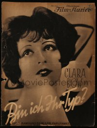 8r0007 GET YOUR MAN German program 1928 many different images of sexy Clara Bow & Buddy Rogers!