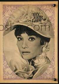 8r0028 MY FAIR LADY East German program 1967 many different images of beautiful Audrey Hepburn!