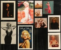 8s0022 LOT OF 10 MARILYN MONROE MISCELLANEOUS ITEMS 1980s-1990s the legendary sex symbol!