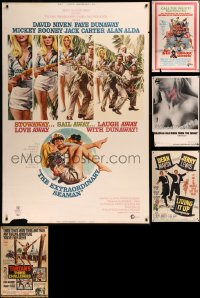 8s0011 LOT OF 6 1960S 40X60S 1960s great images from a variety of different movies!
