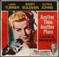 8t0031 ANOTHER TIME ANOTHER PLACE 6sh 1958 sexy Lana Turner has affair with young Sean Connery!