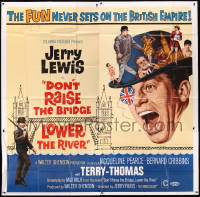 8t0039 DON'T RAISE THE BRIDGE, LOWER THE RIVER 6sh 1968 wacky art of Jerry Lewis in London!