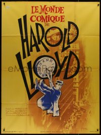8t0922 HAROLD LLOYD'S WORLD OF COMEDY French 1p 1962 one of the great comics of all time at his best!