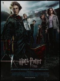 8t0924 HARRY POTTER & THE GOBLET OF FIRE French 1p 2005 Daniel Radcliffe, Emma Watson, Rupert Grint