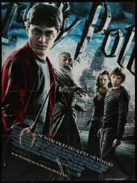 8t0925 HARRY POTTER & THE HALF-BLOOD PRINCE French 1p 2009 Daniel Radcliffe, Grint & Emma Watson!