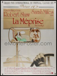 8t0937 HIRELING French 1p 1973 Robert Shaw as chauffeur to Sarah Miles, before Driving Miss Daisy!