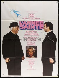 8t0942 HOLY YEAR French 1p 1976 priests Jean Gabin & Jean Claude Brialy, Danielle Darrieux!