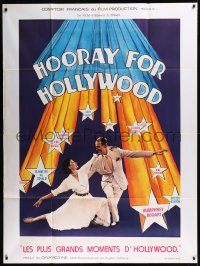 8t0945 HOORAY FOR HOLLYWOOD French 1p 1979 rare documentary about making movies!