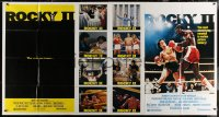 8t0008 ROCKY II 1-stop poster 1979 Sylvester Stallone & Carl Weathers, includes different image!