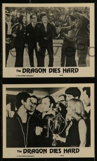 8w0011 BRUCE LEE - SUPER DRAGON 8 Canadian 8x10 stills 1976 Bruce Li in The Dragon Dies Hard!