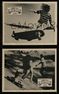 8w0014 FREEWHEELIN' 4 Canadian 8x10 stills 1976 skateboarding is now a movie, different images!