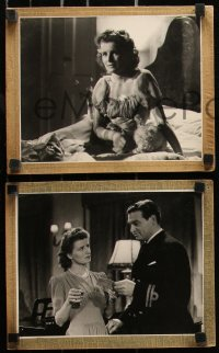 8w0028 I'LL WALK BESIDE YOU 9 7.75x9.5 Dutch stills 1943 Richard Bird, Lesley Brook, Percy Marmont!