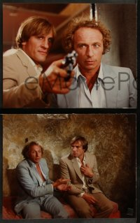 8w0018 LA CHEVRE 25 color Dutch 9.25x11.75 stills 1982 Gerard Depardieu, French!