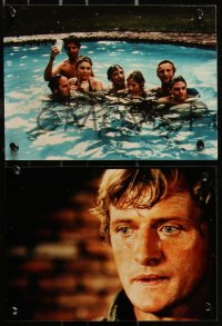 8w0015 OSTERMAN WEEKEND 34 color Dutch from 7.5x11 to 8x11 stills 1983 Sam Peckinpah, Hauer, Lancaster, Hurt, Hopper!