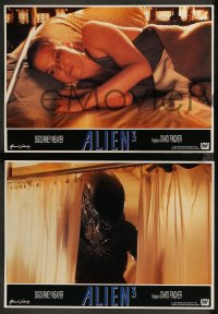 8w0037 ALIEN 3 12 Spanish LCs 1992 Sigourney Weaver, 3 times the danger, 3 times the terror!