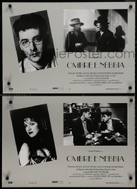 8x0680 SHADOWS & FOG group of 8 Italian 17x25 pbustas 1992 cool images of Allen, Farrow, Cusack!