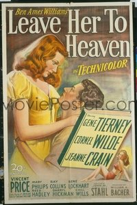 075 LEAVE HER TO HEAVEN 1sheet