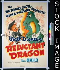 RELUCTANT DRAGON 1sh