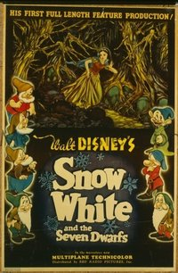 026 SNOW WHITE & THE SEVEN DWARFS UF, style C 1sheet