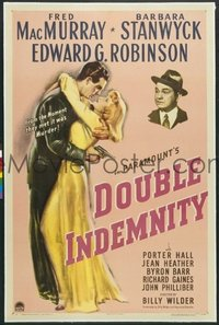 139 DOUBLE INDEMNITY 1sheet