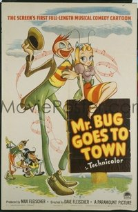 155 MR. BUG GOES TO TOWN linen 1sheet