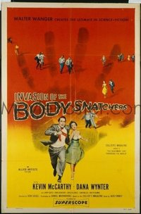 329 INVASION OF THE BODY SNATCHERS ('56) linen 1sheet