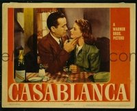 VHP7 055 CASABLANCA lobby card '42 classic here's looking at you kid