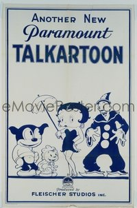 689 ANOTHER NEW PARAMOUNT TALKARTOON 1sheet